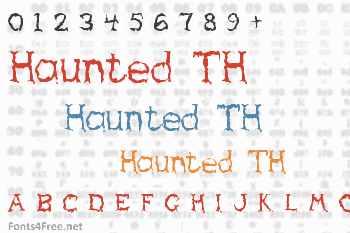 Haunted TH Font