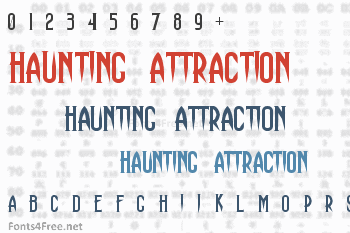 Haunting Attraction Font