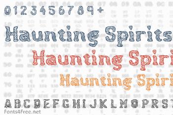 Haunting Spirits Font