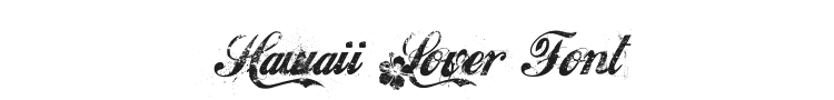 Hawaii Lover Font Preview