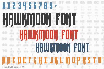 Hawkmoon Font
