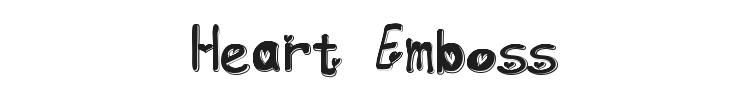 Heart Emboss
