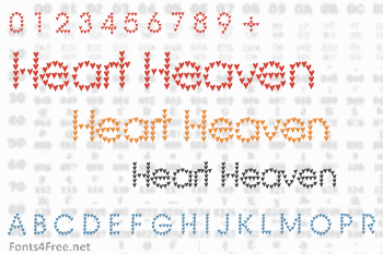 Heart Heaven Font