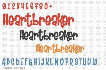 Heartbreaker Font