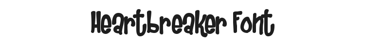Heartbreaker Font Preview