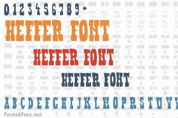 Heffer Font