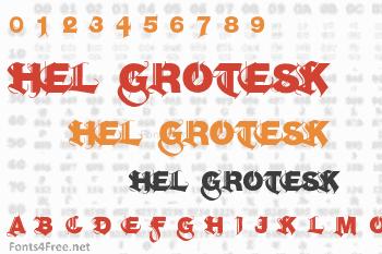 Hel Grotesk Gothiq Font