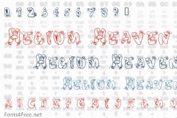 Helium Heaven Font