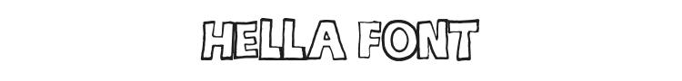 hella Font