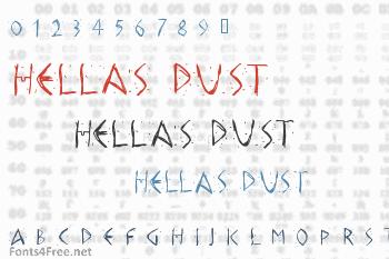 Hellas Dust Font
