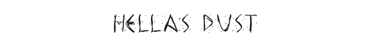 Hellas Dust Font Preview