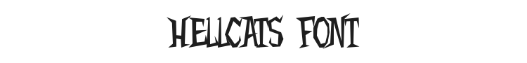 Hellcats Font Preview