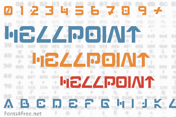 Hellpoint Font