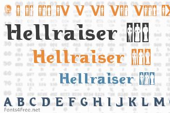 Hellraiser 3 Font