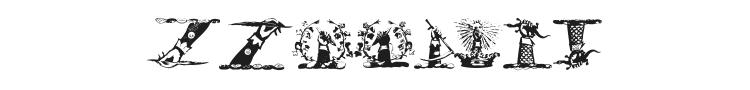 Helmbusch Crest Symbols Font Preview