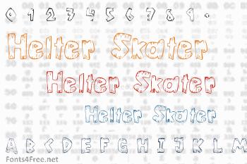 Helter Skater Font
