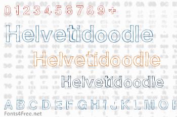Helvetidoodle Font