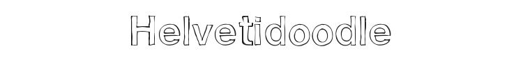 Helvetidoodle Font Preview