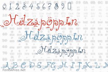 Helzapoppin Font