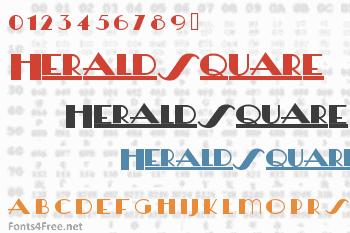 HeraldSquare Font