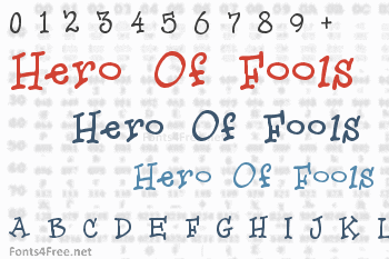 Hero Of Fools Font