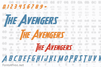 Heroes Assemble Font