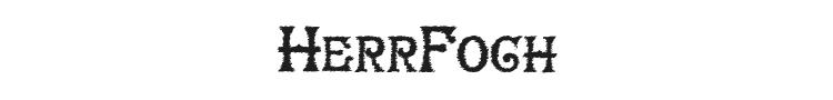 HerrFoch Font Preview