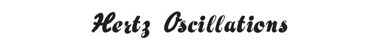 Hertz Oscillations Font Preview