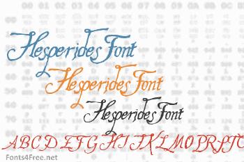 Hesperides Font