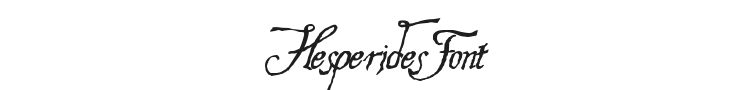 Hesperides Font Preview