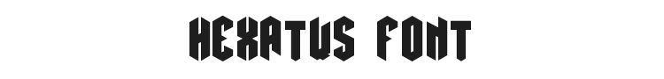 Hexatus Font Preview