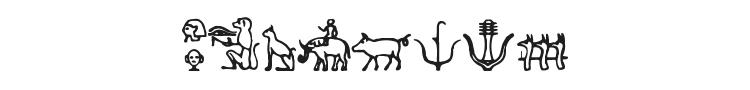 Hieroglify Font