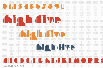 High Five Font