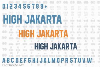 High Jakarta Font