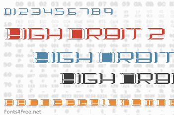 High Orbit 2 Font