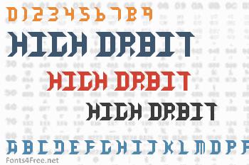 High Orbit Font