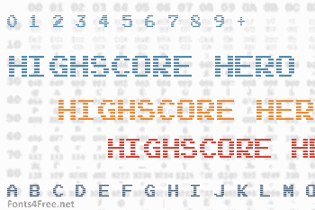 Highscore Hero Font
