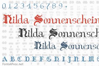 Hilda Sonnenschein Font