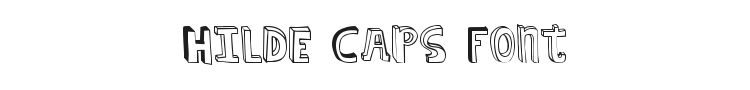 Hilde Caps Font
