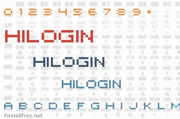 Hilogin Font