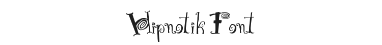 Hipnotik Font Preview