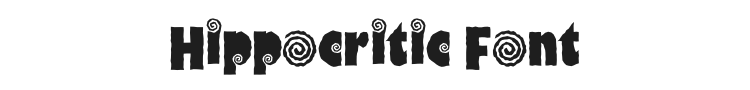Hippocritic Font Preview