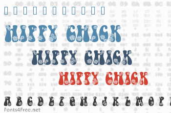 Hippy Chick Font