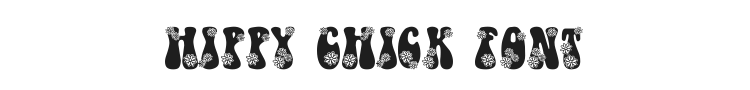 Hippy Chick Font Preview