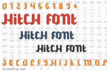 Hitch Font