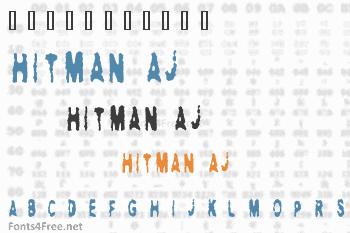 Hitman AJ Font