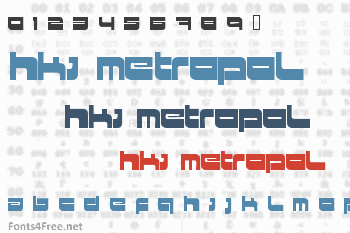 HKI Metropol Font