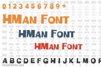HMan Font
