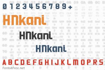 HNkani Font