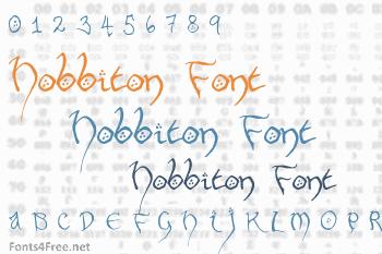 Hobbiton Font